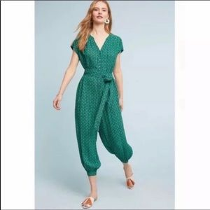 Anthropologie Maeve pattern jumpsuit